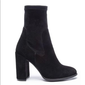 Chinese Laundry suede Capricorn bootie